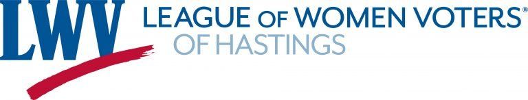 LWV Hastings logo