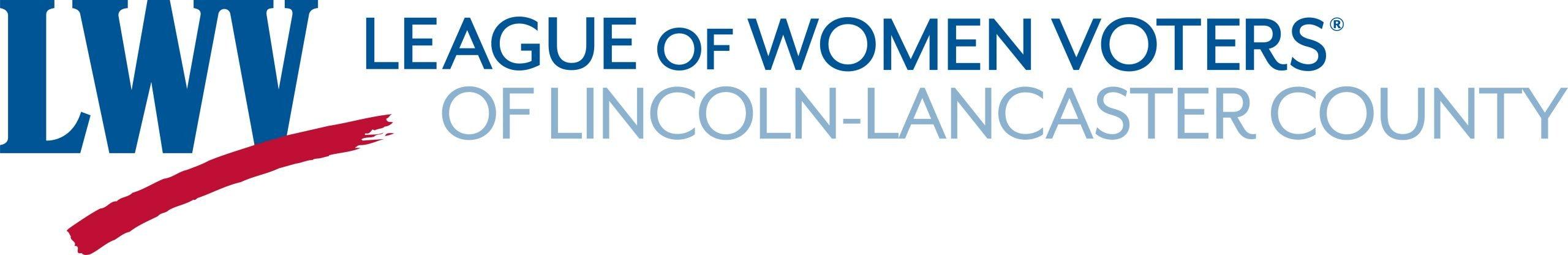 LWV Lincoln Lancaster logo