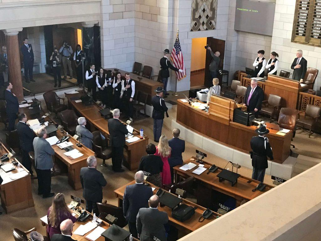 Opening of the Nebraska Legislature