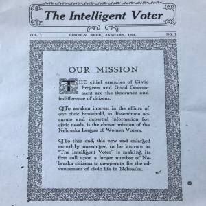 The Intelligent Voter Newsletter Picure