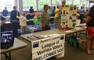 Seward League at an event