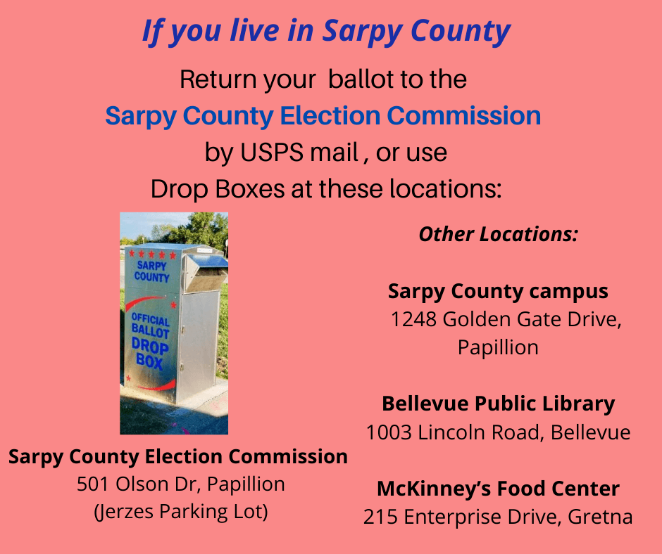 Sarpy County Drop Box list