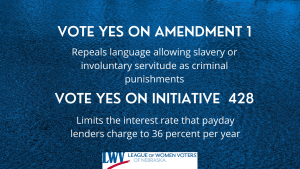 Vote yes on Amendment 1 and Initiative 428