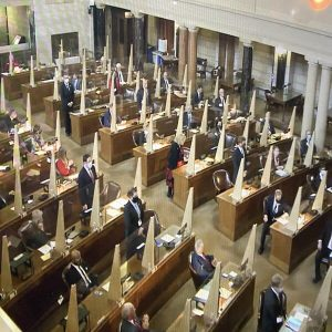 First day of 107th Legislature