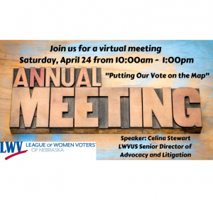 LWVNE 2021 Annual meeting graphic