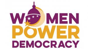 Women Power Democracy Logo